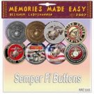 Semper Fi Buttons