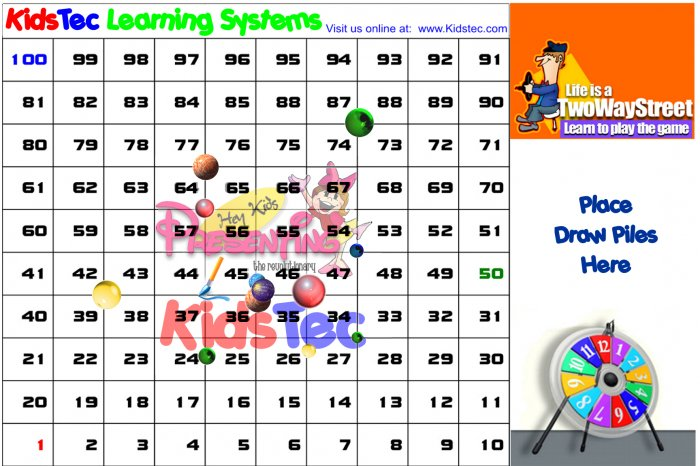 Kidstec Learning Systems Gameboard