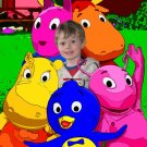 28x22 Customized Backyardigans Poster Featuring your child's picture