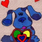 24x36 Blues Clues-with Hearts Gothic Oil style