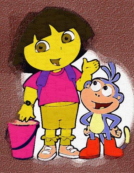 24x36 Dora the explorer poster