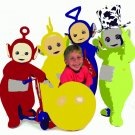 8x10 Customized Teletubbies Poster Featuring your child's picture