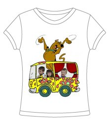 Customized Character t-shirt featuring your child & favorite character