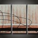 Modern Abstract oil painting wall art (+Framed) XLMD-002