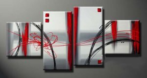 Free Shipping Modern Abstract art oil painting (+Framed) XLM-088