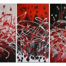 Free shipping Modern Abstract oil painting wall art (+Framed) Gop-001