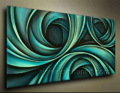 Good ! New Modern Abstract Huge Art Oil Painting on Canvas (+ Frame)  XD1-006