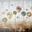 Hot Sell Beautiful Flower Oil Painting On Canvas (+ Frame) FL1-001