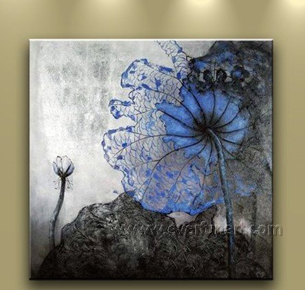 Hot Sell Beautiful Flower Oil Painting On Canvas (+ Frame) FL1-007