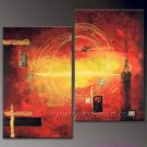 Huge Mordern Abstract Wall Decor Art Canvas Oil Painting (+ Frame) XD2-029