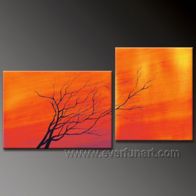 Handpainted Landscape oil painting art canvas painting  (+ frame) XD2-048