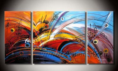 Huge Mordern Abstract Wall Decor Art Canvas Oil Painting (+ Frame) XD3-001