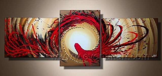 Huge Mordern Abstract Wall Decor Art Canvas Oil Painting (+ Frame) XD3-012