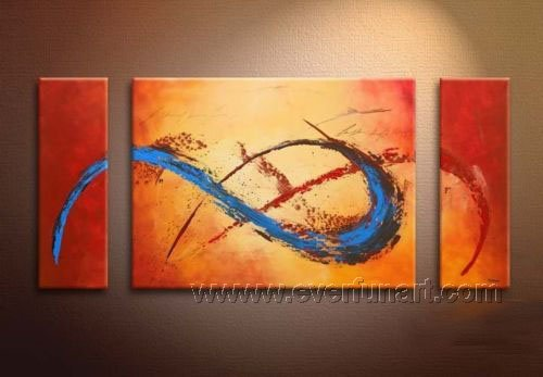 Huge Mordern Abstract Wall Decor Art Canvas Oil Painting (+ Frame) XD3-032