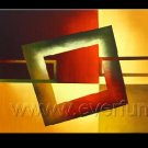 Good ! New Modern Abstract Huge Art Oil Painting on Canvas (+ Frame) XD3-038