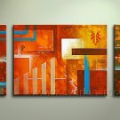 Good ! New Modern Abstract Huge Art Oil Painting on Canvas (+ Frame) XD3-042