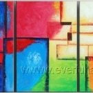 Good ! New Modern Abstract Huge Art Oil Painting on Canvas (+ Frame) XD3-088
