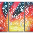 Good ! New Modern Abstract Huge Art Oil Painting on Canvas (+ Frame) XD3-111