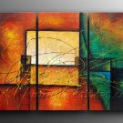 Good ! New Modern Abstract Huge Art Oil Painting on Canvas (+ Frame) XD3-118
