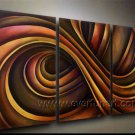 Good ! New Modern Abstract Huge Art Oil Painting on Canvas (+ Frame) XD3-145