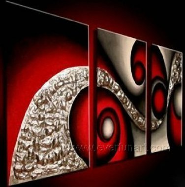 Good ! New Modern Abstract Huge Art Oil Painting on Canvas (+ Frame) XD3-146
