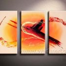 Good ! New Modern Abstract Huge Art Oil Painting on Canvas (+ Frame) XD3-172
