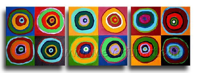 Good ! New Modern Abstract Huge Art Oil Painting on Canvas (+ Frame) XD3-174