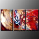 Good ! New Modern Abstract Huge Art Oil Painting on Canvas (+ Frame) XD3-186