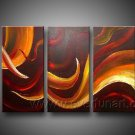 Good ! New Modern Abstract Huge Art Oil Painting on Canvas (+ Frame) XD3-194