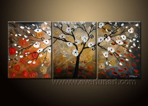 When The Night Comes! Framed! Modern Wall Decor Art Landscape Huge Oil Painting On Canvas LA3-001