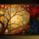 Gift Of Nature! Framed! Modern Wall Decor Art Landscape Huge Oil Painting On Canvas LA3-014