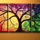 In The Garden of Eden! Framed! Modern Wall Decor Art Landscape Huge Oil Painting On Canvas LA3-018