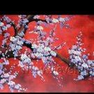 Gorgeous Oil Floral Painting on Canvas Asian Art (+Frame) FL3-021