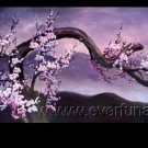 Gorgeous Oil Floral Painting on Canvas Asian Art (+Frame) FL3-027