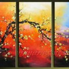 Gorgeous Oil Floral Painting on Canvas Very Pretty Flowers (+Frame) FL3-063