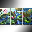 Gorgeous Oil Floral Painting on Canvas Very Pretty Flowers (+Frame) FL3-132