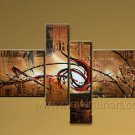 Handmade Abstract Oil Painting Modern Art Wall Decor Canvas Painting (+Frame)  XD4-025