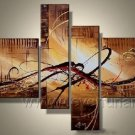 Handmade Abstract Oil Painting Modern Art Wall Decor Canvas Painting (+Frame)  XD4-026