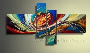 Handmade Abstract Oil Painting Modern Art Wall Decor Canvas Painting (+Frame)  XD4-028