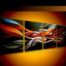 Handmade Abstract Oil Painting Modern Art Wall Decor Canvas Painting (+Frame)  XD4-058
