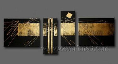 Handmade Abstract Oil Painting Modern Art Wall Decor Canvas Painting (+Frame)  XD4-110