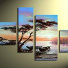 Handpainted Landscape Oil Impressionist Art Canvas Painting (+Frame) LA4-006