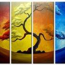 Handpainted Landscape Oil Impressionist Art Canvas Painting (+Frame) LA4-013