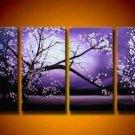 Handpainted Landscape Oil Impressionist Art Canvas Painting (+Frame) LA4-019