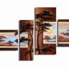 Handpainted Landscape Oil Impressionist Art Canvas Painting (+Frame) LA4-026