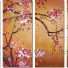 Gorgeous Oil Floral Painting on Canvas Very Pretty Flowers (+Frame) FL4-058