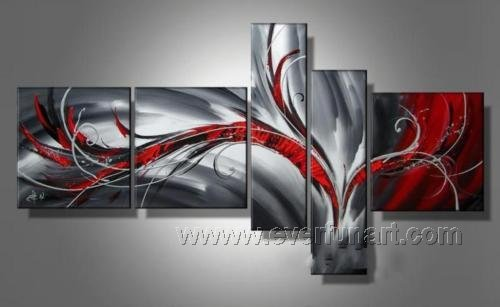 Huge Mordern Abstract Wall Decor Art Canvas Oil Painting (+ Frame) XD5-023