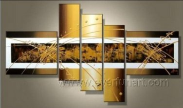 Huge Mordern Abstract Wall Decor Art Canvas Oil Painting (+ Frame) XD5-028