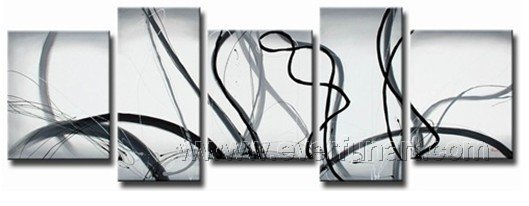 Huge Mordern Abstract Wall Decor Art Canvas Oil Painting (+ Frame) XD5-062