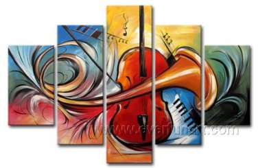 Huge Mordern Abstract Wall Decor Art Canvas Oil Painting (+ Frame) XD5-069